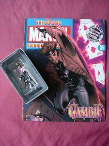 Gambit #35 Classic Marvel Figurine Collection Figure & Mag Eaglemoss 2006 VFN