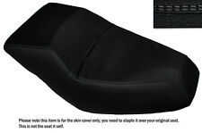 GREY DS STITCH CUSTOM FITS HONDA HELIX CN 250 DUAL LEATHER SEAT COVER