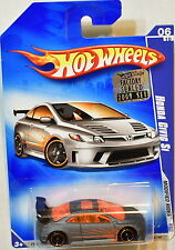 HOT WHEELS 2009 MODIFIED RIDES HONDA CIVIC SI #06/10 MIB FACTORY SEALED