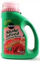 Miracle Gro Shake & Feed Continuous Release Rose Plant Food 4.5lb Jug