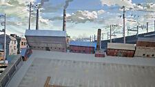 More details for 1:220 z gauge model railway industrial warehouse 8 x buildings p-i-002 int