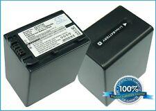 7.4 V BATTERIA PER SONY HDR-HC7, hdr-cx150r, hdr-cx550v, HDR-CX150, DCR-SX63E / S