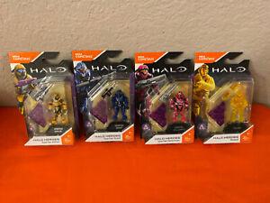 Mega Construx Halo Heroes Lot Of 4 New.
