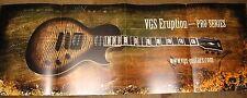 VGS guitar brochure VGS Eruption - PRO Series poster