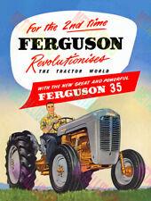 Ferguson 35 Tractor Advertising Poster (A3)
