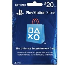 Playstation Network Gift Card $20 US PSN Points Ps4 USA Sony Fast email Delivery