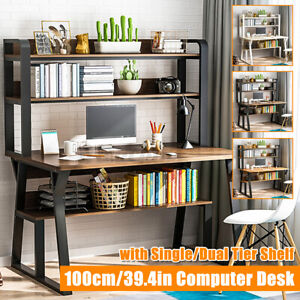 Large Computer Desk PC Laptop Table Corner Modern Home Office Workstation Gaming