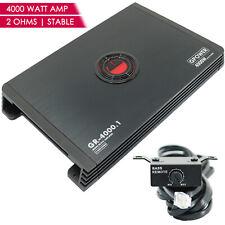 New Gravity GR4000.1 Monoblock 4000 WATTS  Class AB Car Audio Stereo Amplifier