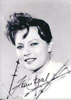Karin Baal Autograph Actress In The Monster Of Blackwood Castle Signed Photo