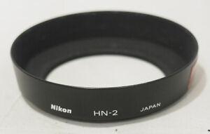 Genuine OEM Nikon HN-2 Metal Lens Hood Screw-On 52mm f/ 28mm, 35-70mm etc #748
