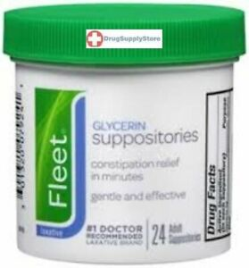 Fleet Glycerin Suppository 24ct