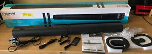 Polaroid 50W Transformable Bluetooth TV Soundbar 2.0 Speakers Optical AUX Remote