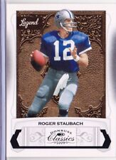 2009 Roger Staubach Donruss Classics Legend Card Dallas Cowboys