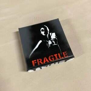 Kunstrasen - Fragile (Wine Glass) mini Canvas (Ed. of 4)