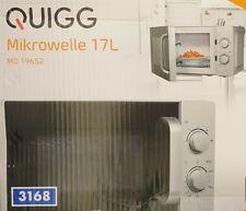 QUIGG MD19652 Mikrowelle 700 Watt 5 Stufen, Auftaufunktion, 35 Minuten Timer 17L