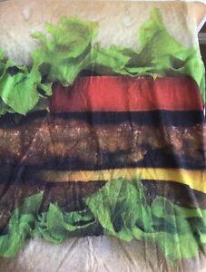 cheeseburger t shirt Medium Short Sleeve axr xzavier