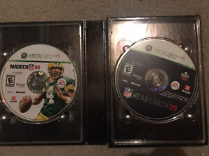 NFL Head Coach 09 Collector's Edition — Complete (Xbox 360 2008) Madden XX Years