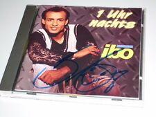 IBO 1 UHR NACHTS CD MIT AUTOGRAMM DEUTSCH SCHLAGER 1994 MIT MEINE KÖNIGIN (YZ)