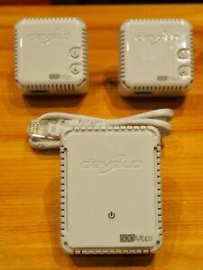 WiFi range extender - Devolo dLAN 500 WiFi Powerline Adapter Kit - Triple Pack