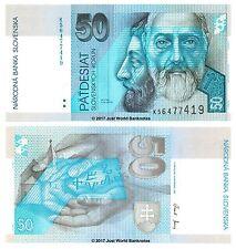 Slovakia 50 Korun 2005 P-21e Banknotes UNC