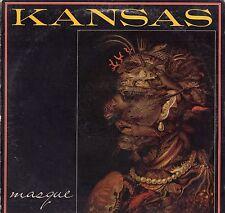 Kansas Vinyl 2 LP Lot, Kirshner Records, Audio-Visions & Masque ~ VG+
