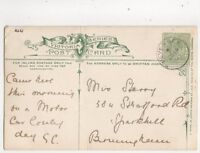 Pevensey 14 Jul 1905 Single Ring Postmark 364b
