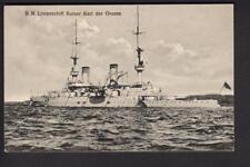 Gebr Lempe AK : Linienschiff Karl der Große -  Kaiserliche Marine - MSP Nr. 107
