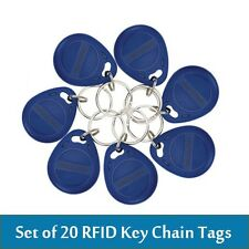 20pcs/lot RFID Keyfobs Keychain Tags for Time Attendance / Access Control System