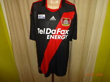 """Bayer 04 Leverkusen Adidas Trasferta Maglia 2010/11 """"Tel poiché fax"""" Taglia XL-XXL Nuovo"""