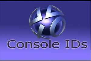 PS3 Console ID - Instant Delivery CID IDPS + PSID - Proof of Privacy - Guarantee