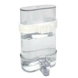 Parakeet Water Dispenser Automatic Water Drink No Spill Clear Container