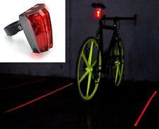 Faro laser a luci per biciclette ebay