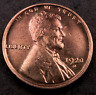 1920-D Lincoln Wheat Penny Cent // Uncirculated (red) // (W9957)
