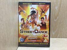 Street Dance 3D DVD New & Sealed includes Glasses Richard Winsor