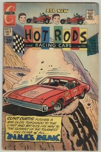 Hot Rods and Racing Cars #115 July 1972 VG