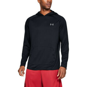 Under Armour 1328703001XS Tech 2.0 Black X-Small Pullover Men's Hoodie