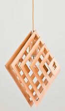 ZOLTAN Modern Wood Ceiling light Geometrical Lamp Shade Pendant Loft