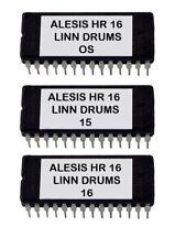 Alesis HR-16 / Hr-16B Eprom Upgrade Set OS ver 2.0 + Linn Drums Sounds
