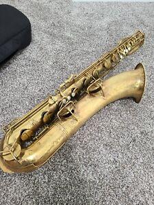 Vintage 12M Conn Naked Lady Baritone Saxophone