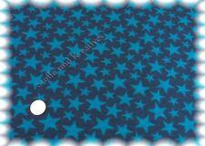 Star Kid Sweat Sterne dunkelblau 50 cm Hilco Sweatshirtstoff Sternchenstoff