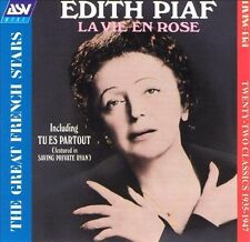 Edith Piaf : Edith Piaf: La Vie en rose CD (1999)