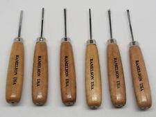 Ramelson Wood Carving Hand Chisel Gouge Veiner Set Kit 6pc Gunsmith Tools