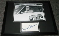 Junior Johnson Signed Framed 11x14 Photo Display