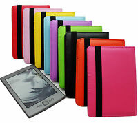For Amazon Kindle 4 4th Generation PU Leather Case Cover Pouch Colorful