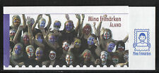 Aland 2009 Personalized Stamp complete booklet--Sports Topical (290a) MNH