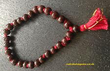 Rare Rosewood Bead Hindu Japa Meditation Yoga Bracelet Wrist band Rosary Sumni