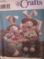 """7020 Vintage Simplicity SEWING Pattern 32"""" Bunny & Clothes FF UNCUT"""
