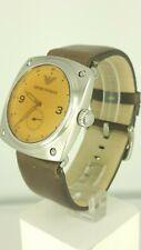 Emporio Armani AR5901 men's watch brown leather AR-5901 VINTAGE LOOK