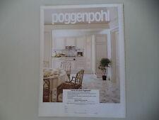 advertising Pubblicità 1983 POGGENPOHL - BOLZANO