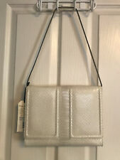 SALE! NWT Brahmin Atelier Chatham Clutch/Shoulder Bag in Embossed Python Leather